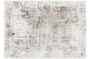 Kayoom Viskose-Teppich Windhoek Silber 90cm x 160cm