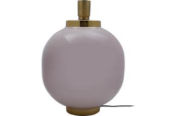 Kayoom Tischlampe Art Deco 125 Altrosa /  Gold