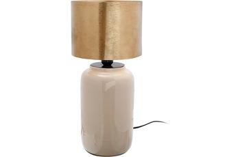 Kayoom Tischlampe Art Deco 625 Elfenbein /  Gold