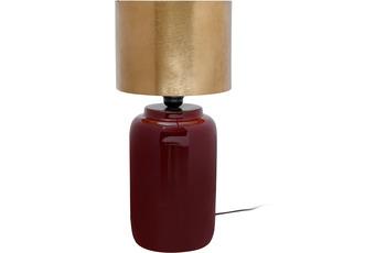 Kayoom Tischlampe Art Deco 625 Pflaume /  Gold