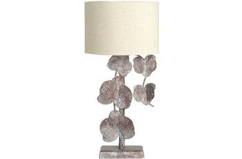 Kayoom Tischlampe Autumn Flowers Bronze