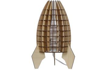 Kayoom Tischlampe Aviator Holz