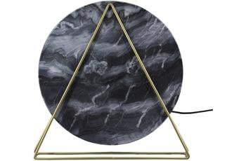 Kayoom Tischlampe Carmie 287 Marmor /  Schwarz