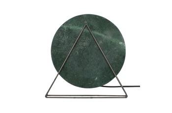 Kayoom Tischlampe Carmie 387 Marmor /  Grün