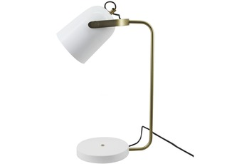 Kayoom Tischlampe Caroline 287 Weiß