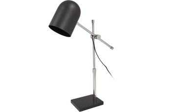 Kayoom Tischlampe Celeste 125 Schwarz /  Silber
