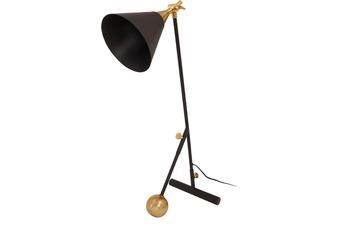 Kayoom Tischlampe Celeste 225 Schwarz /  Gold