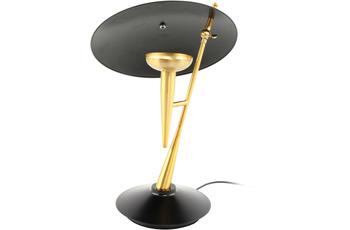 Kayoom Tischlampe Flyer 125 Gold /  Schwarz