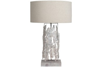 Kayoom Tischlampe Impression Small Iceland Silber