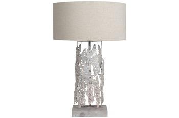 Kayoom Tischlampe Impression Small Iceland Silber