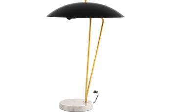 Kayoom Tischlampe Kayani 125 Schwarz /  Gold /  Weiß