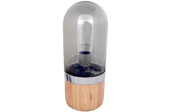 Kayoom Tischlampe Malbi 500 Grau /  Holz