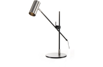 Kayoom Tischlampe Target 125 Silber /  Schwarz