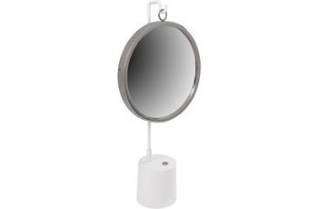 Kayoom Tischspiegel Eleganca 225 Weiß /  Silber