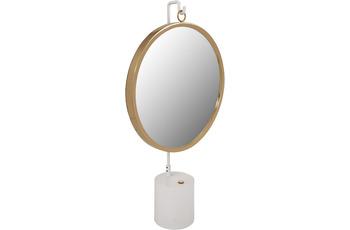 Kayoom Tischspiegel Eleganca 325 Weiß /  Gold