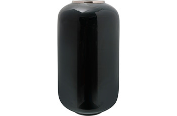 Kayoom Vase Art Deco 275 Dunkelgrün /  Silber