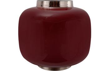 Kayoom Vase Art Deco 325 Pflaume /  Silber