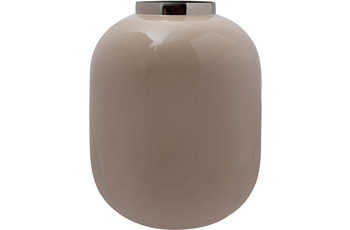 Kayoom Vase Art Deco 345 Elfenbein /  Silber