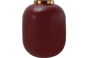 Kayoom Vase Art Deco 345 Pflaume /  Gold