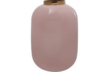 Kayoom Vase Art Deco 355 Hellrosa /  Gold