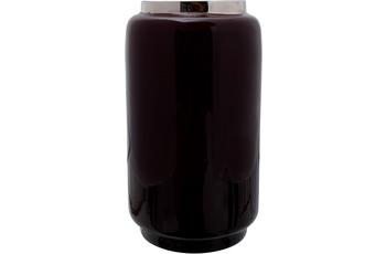 Kayoom Vase Art Deco 445 Beere /  Silber