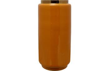 Kayoom Vase Art Deco 455 Gelb /  Gold