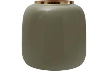 Kayoom Vase Art Deco 545 Mint /  Gold