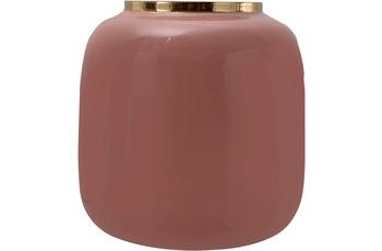 Kayoom Vase Art Deco 545 Rosa /  Gold