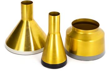 Kayoom Vasen 3er Set Culture 120 Gold /  Weiß /  Schwarz /  Grau