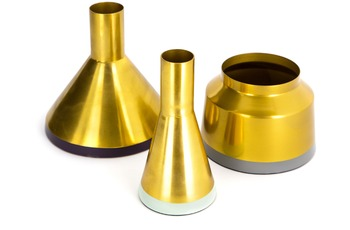 Kayoom Vasen 3er Set Culture 140 Gold /  Mint /  Pflaume /  Grau