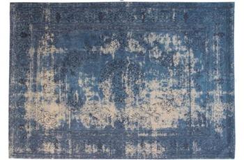 Kayoom Teppich Nostalgia 385 Blau 80 x 150 cm