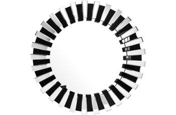 Kayoom Wandspiegel Apollon 910 Silber /  Schwarz