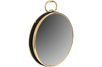 Kayoom Wandspiegel Eleganca 925 Gold /  Schwarz