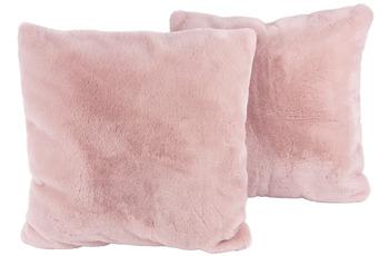 Kenda Sand Dekokissen Aimee 525 2er-Set Rosa