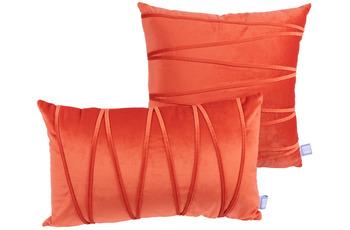 Kenda Sand Dekokissen Paulina 125 2er-Set Orange