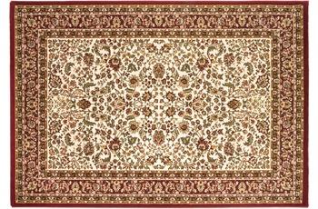Keshan Super 328 beige/ rot 240 x 340 cm
