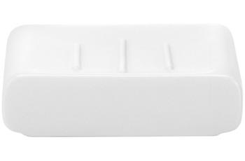 Kleine Wolke Accessoires Seifenschale Cubic, Weiss 3 x 11 cm