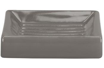 Kleine Wolke Accessoires Seifenschale Flash, Anthrazit 2,5 x 10,5 cm
