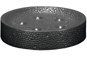 Kleine Wolke Accessoires Seifenschale Monroe, Schwarz 3 x 11 cm