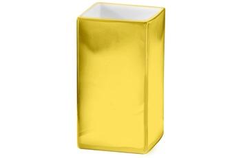 Kleine Wolke Accessoires Zahnputzbecher Glamour, Gold 10 x 6 cm
