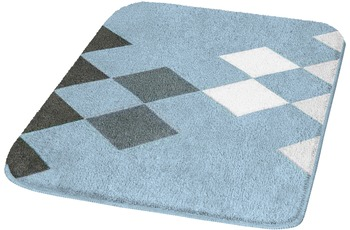 Kleine Wolke Badteppich Altea, Stahlblau