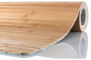 Kleine Wolke Badteppich Bambus Natur 50 cm x 80 cm