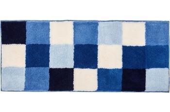 Kleine Wolke Badteppich Caro Royalblau 50 cm x 120 cm