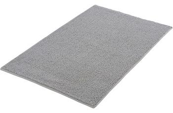Kleine Wolke Badteppich Chrissy Silbergrau 65x115 cm
