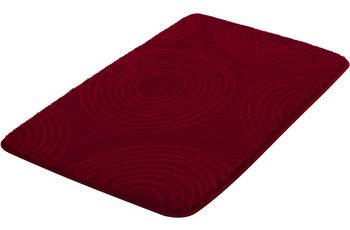Kleine Wolke Badteppich Cosima, Granat 80x140 cm