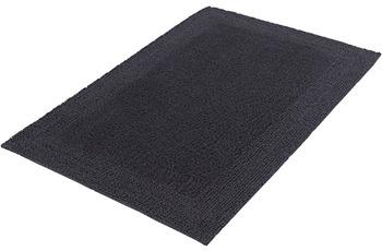 Kleine Wolke Badteppich Cotone, Schiefer 47x 50 cm Deckelbezug
