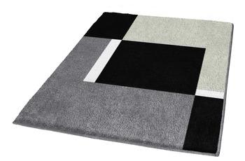 Kleine Wolke Badteppich, Dakota, Platin 55 x 55 cm WC-Vorleger mit Ausschnitt