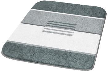 Kleine Wolke Badteppich, Deco, Schiefer 47 x 50 cm Deckelbezug