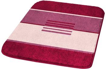 Kleine Wolke Badteppich, Deco, Weinrot 47 x 50 cm Deckelbezug