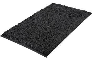 Kleine Wolke Badteppich Delight, Schiefer 60x 60 cm